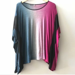 EARTHBOUND Ombre Oversized Top